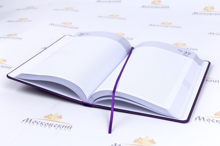 Печать ежедневников с логотипом